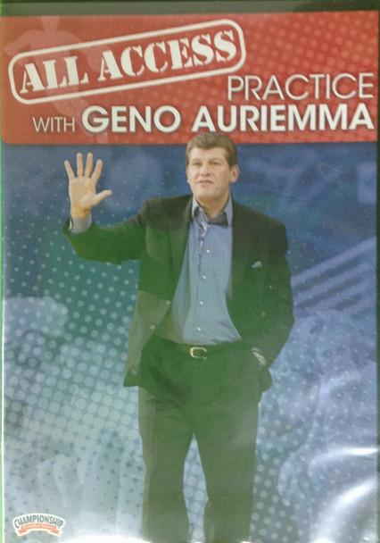 All Access: Geno Auriemma Disc 2 by Geno Auriemma Instructional Basketball Coaching Video