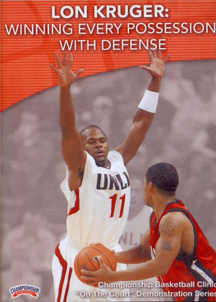 Winning Every Possession With Defense by Lon Kruger Instructional Basketball Coaching Video