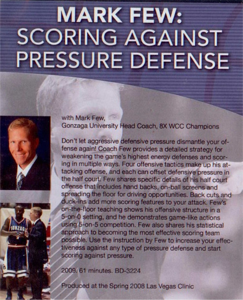 (Rental)-Scoring Against Pressure Defense