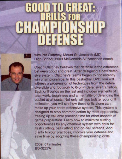 (Rental)-Drills For Championship Defense