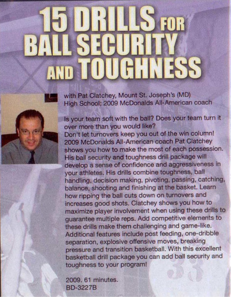 (Rental)-15 Drills For Ball Security & Toughness