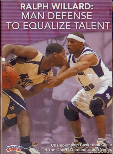 Ralph Willard: Man Defense To Equalize Talent by Ralph Willard Instructional Basketball Coaching Video