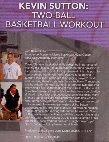 (Rental)-Two-ball Basketball Workout