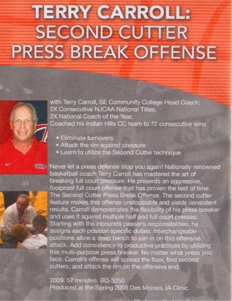 (Rental)-Second Cutter Press Break Offense