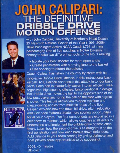(Rental)-John Calipari: The Definitive Dribble Drive Motion Offense