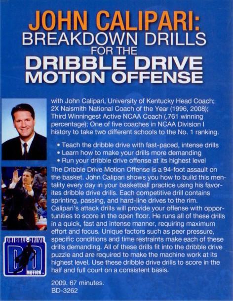 (Rental)-Breakdown Drills For The Dribble Drive Motion Offense