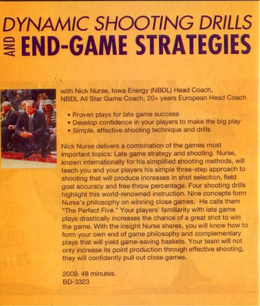 (Rental)-Dynamic Shooting Drills And End Game Strategies
