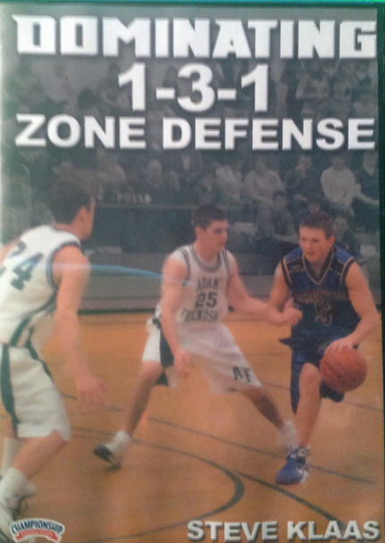 Dominating 1--3--1 Zone Defense by Steve Klaas Instructional Basketball Coaching Video