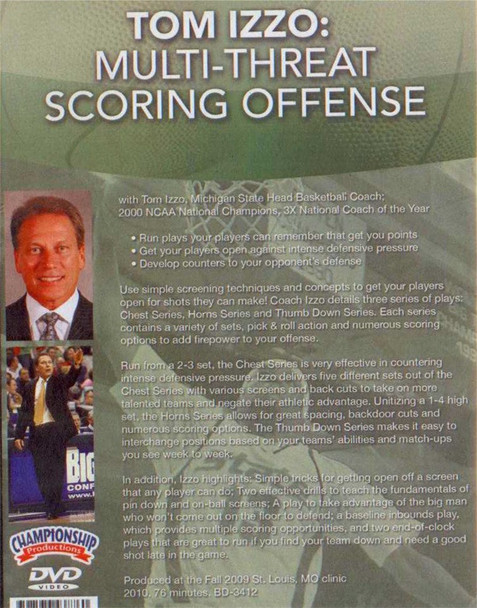(Rental)-Tom Izzo: Multi--threat Scoring Offense