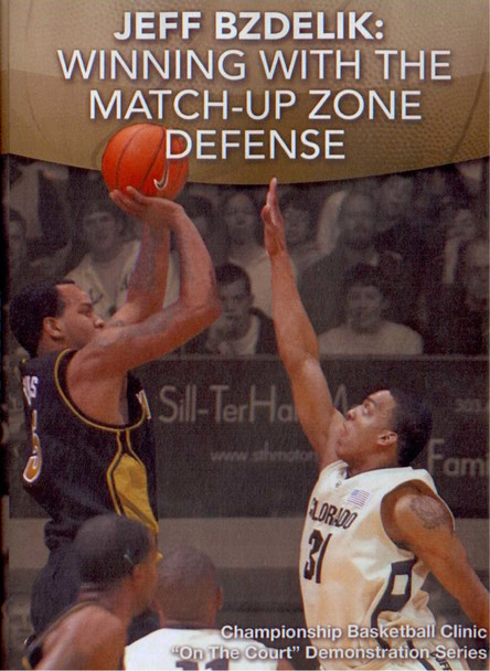 Winning With The Match--up Zone by Jeff Bzdelik Instructional Basketball Coaching Video