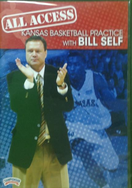 All Access: Bill Self by Bill Self Instructional Basketball Coaching Video