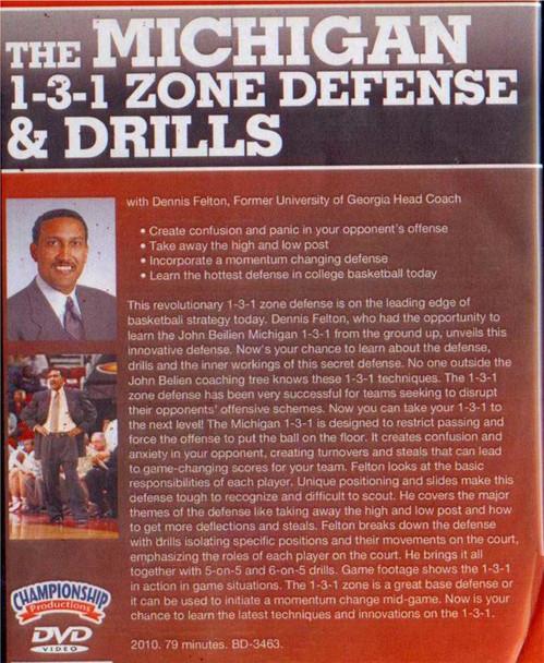 Michigan 1-3-1 Zone Defense