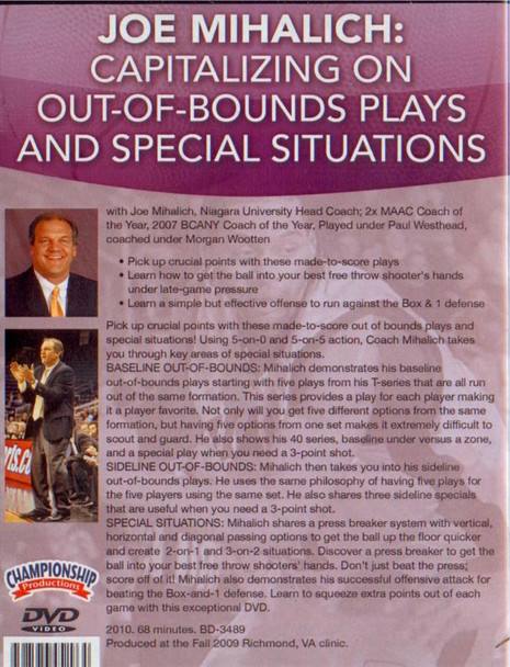 (Rental)-Capitalizing On Out--of--bound Plays And Special Situations