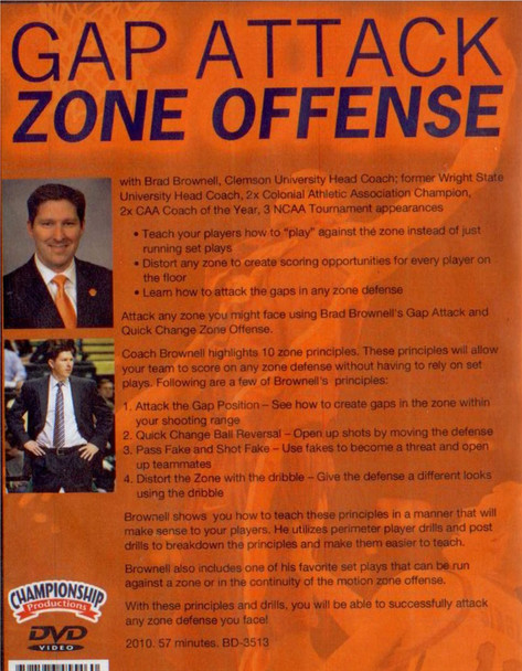 (Rental)-Gap Attack Zone Offense