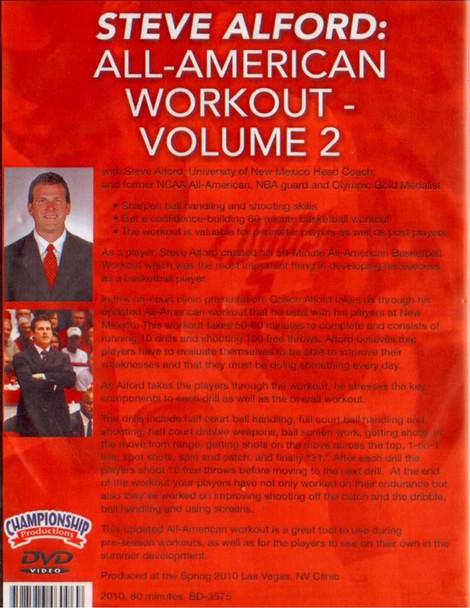 (Rental)-Steve Alford: All--american Workout – Vol. 2