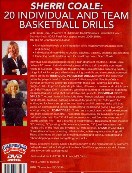 (Rental)-20 Individual & Team Basketball Drills