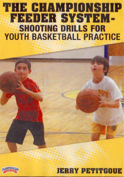 Youth Feeder System: Shooting Drills by Jerry Petitgoue Instructional Basketball Coaching Video