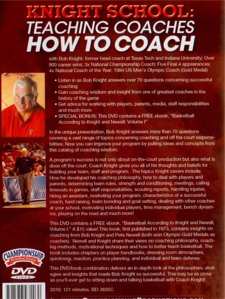 (Rental)-Knight School: Teaching Coaches How To Coach (knight)