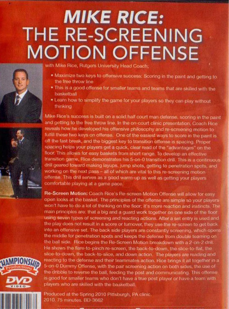 (Rental)-Re--screening Motion Offense
