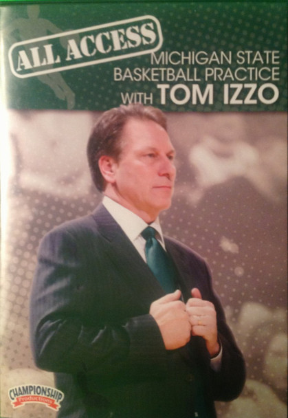 All Access: Tom Izzo Disc 1 by Tom Izzo Instructional Basketball Coaching Video