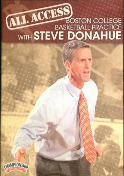 All Access: Steve Donahue by Steve Donahue Instructional Basketball Coaching Video
