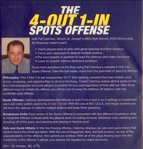 Spots Offense basketball