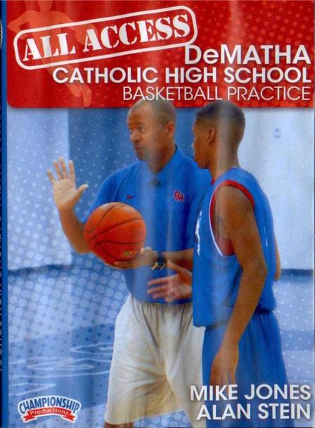 All Access: Dematha Disc 3 by Alan Stein Instructional Basketball Coaching Video