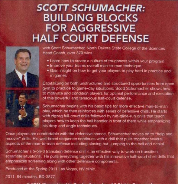 (Rental)-Building Blocks For Aggressive Half Court Defense