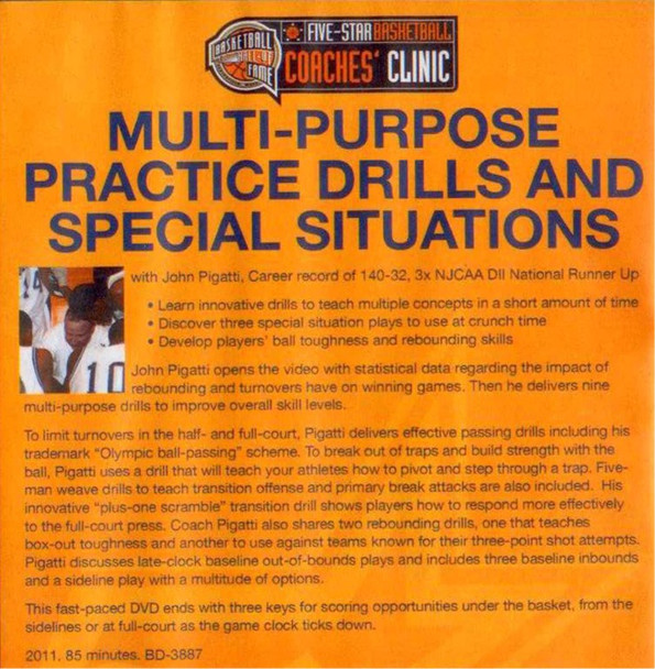 (Rental)-Multipurpose Practice Drills And Special Situations