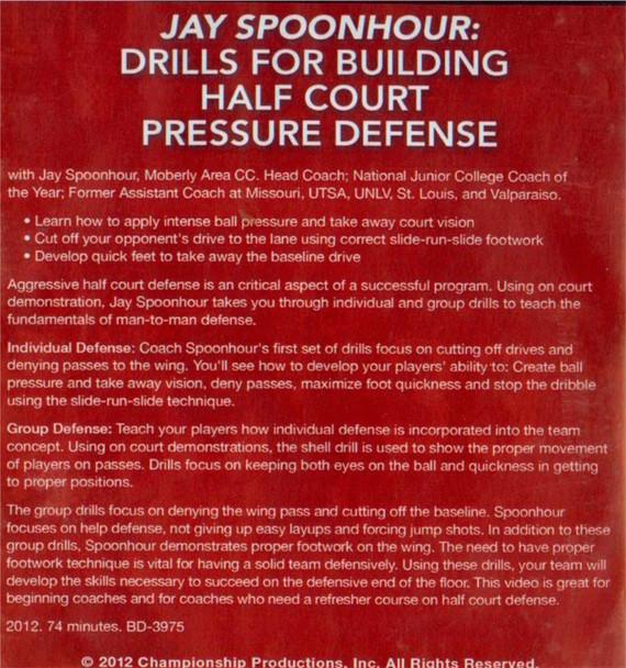 (Rental)-Drills For Building Half Court Pressure Defense