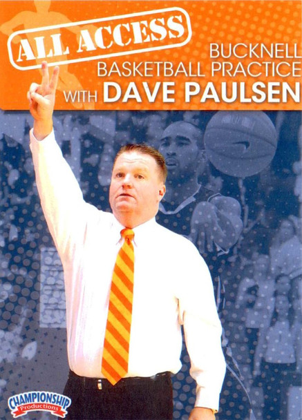 All Access: Dave Paulsen by Dave Paulsen Instructional Basketball Coaching Video