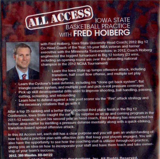 (Rental)-All Access: Fred Hoiberg