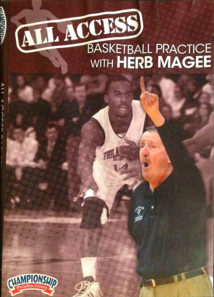 All Access: Herb Magee by Herb MaGee Instructional Basketball Coaching Video