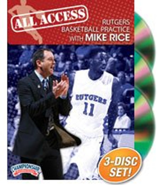 All Access: Mike Rice by Mike Rice Instructional Basketball Coaching Video