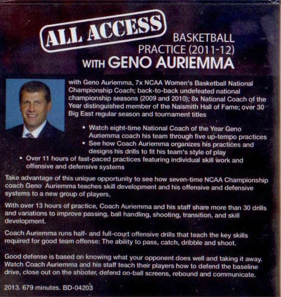 (Rental)-All Access: Geno Auriemma (2011-12)