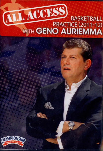 All Access: Geno Auriemma (2011-12) by Geno Auriemma Instructional Basketball Coaching Video