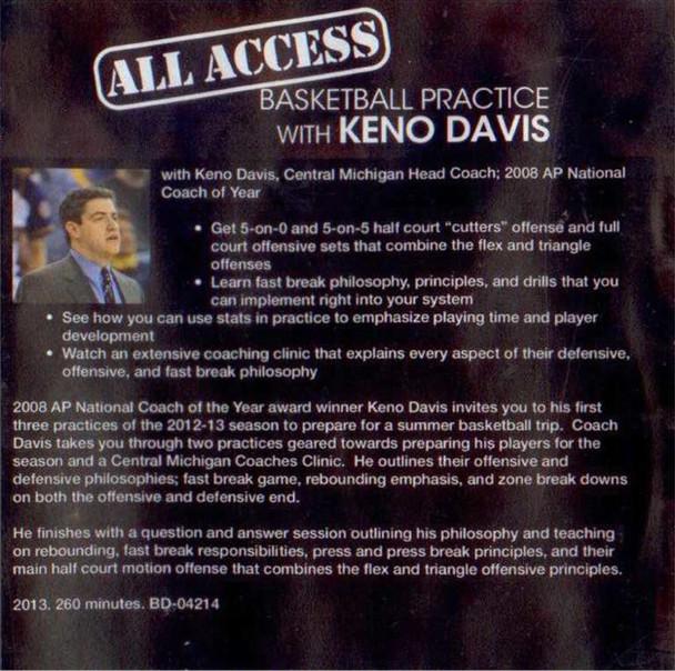 Basketball Practice Plan with Keno Davis and Template