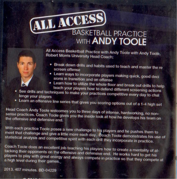 Any Toole Basketball Practice plan template