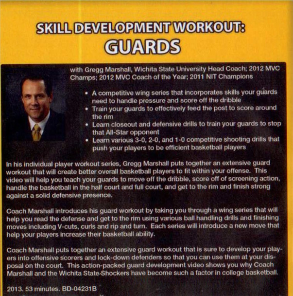 (Rental)-Skill Development Workout: Guards