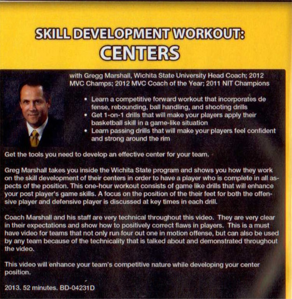 (Rental)-Skill Development Workout: Centers