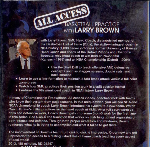 (Rental)-All Access: Larry Brown