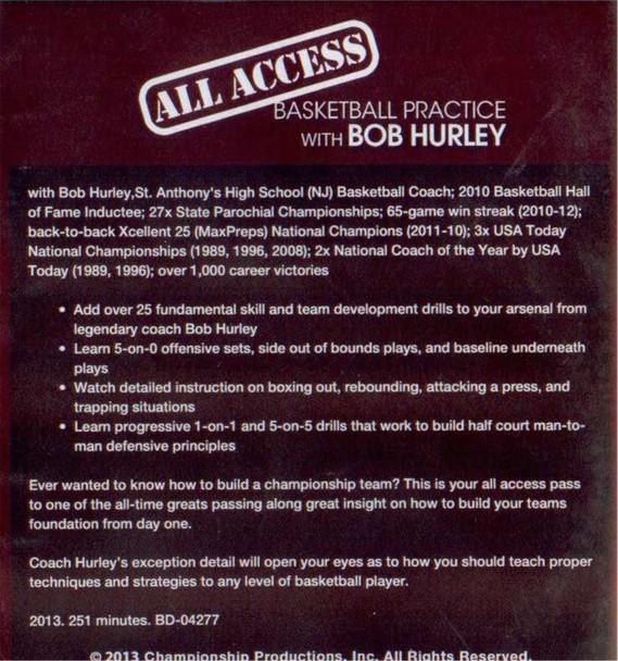 (Rental)-All Access: Bob Hurley