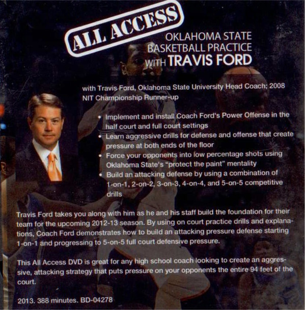 Travis Ford basketball practice template