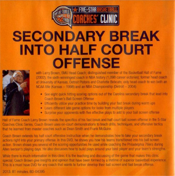 secondary break offense video