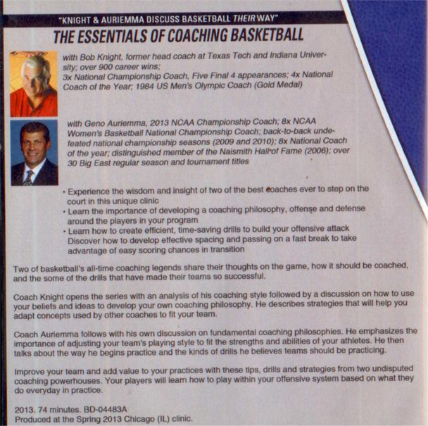 How to Be a Great Basketball Coach