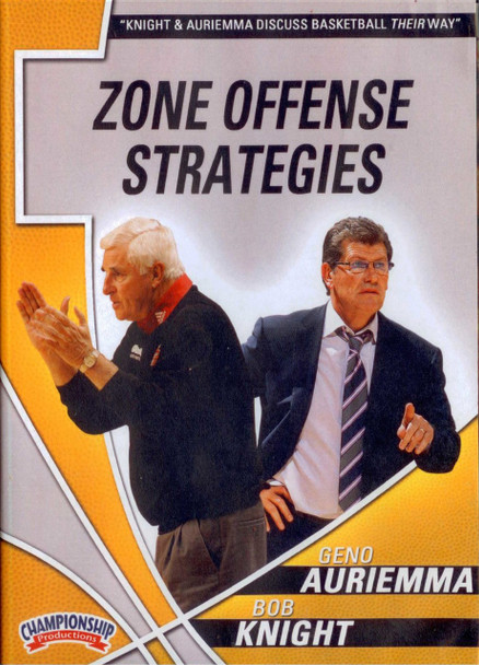 Auriemma & Knight: Zone Offense Strategies by Bob Knight Instructional Basketball Coaching Video