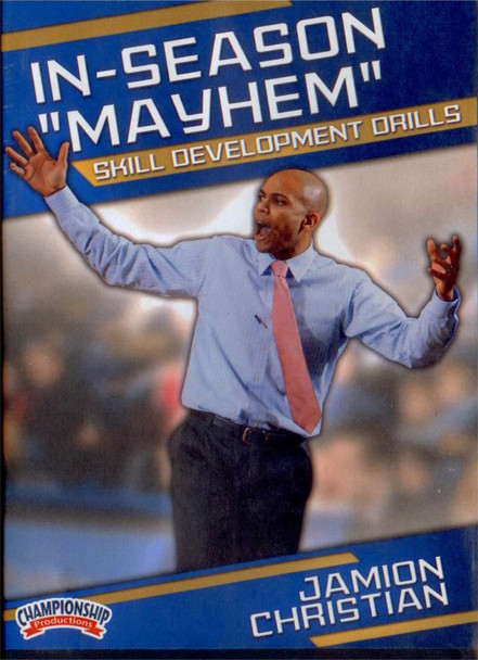 "In-season ""mayhem"" Skill Development Drills by Jamion Christian Instructional Basketball Coaching Video"