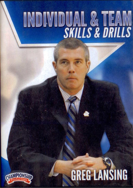Motion Offense Skills & Drills by Greg Lansing Instructional Basketball Coaching Video