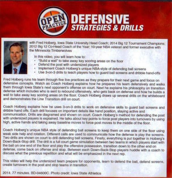 Fred Hoiberg Defensive Strategies