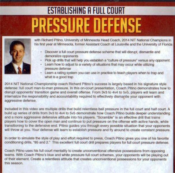 full court pressure defense rich pitino